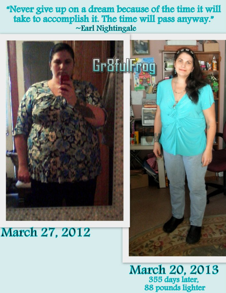 Laurie Swanson before and after her weight loss with The Anderson Method.