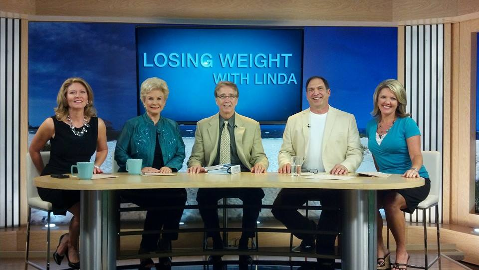 Bill Anderson, LMHC, teaching about permanent weight loss on The Suncoast View.