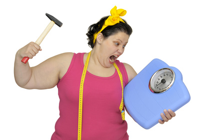 Weight loss causes hot flashes